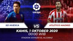 Indosport - SD Huesca vs Atletico Madrid.