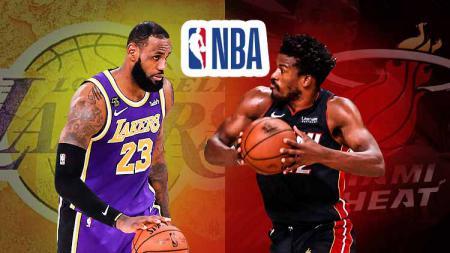 Berikut link live streaming game 4 Final NBA 2019/20 antara Miami Heat vs LA Lakers pada Rabu (07/10/20) pukul 08.00 WIB. - INDOSPORT