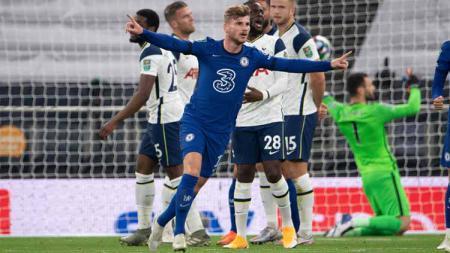 Chelsea akan bertemu Tottenham Hotspur di Liga Inggris, Minggu (29/11/20) malam. Berikut 5 pemain yang wajib dinanti aksinya di laga seru tersebut. - INDOSPORT