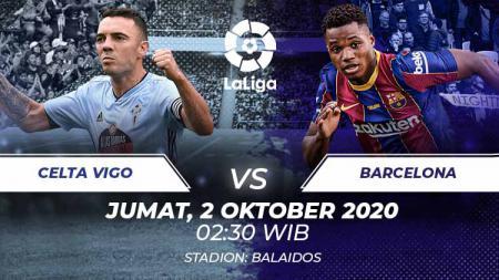 Celta Vigo vs Barcelona di laga pekan ke-4 LaLiga Spanyol. Anda bisa menyaksikan pertandingan tersebut melalui live streaming. - INDOSPORT