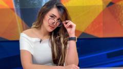 Indosport - Ucapkan Selamat Pagi, Piyama Tidur Intan Saumadina Bikin Netizen Gagal Fokus