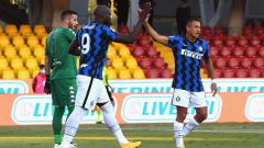 Indosport - Berikut adalah hasil pertandingan tunda giornata pertama Serie A Italia antara Benevento vs Inter Milan yang berakhir dengan kemenangan telak untuk Nerazzurri.