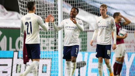 Berikut adalah hasil pertandingan babak 16 besar Carabao Cup yang mempertemukan Burnley vs Manchester City yang berakhir dengan kemenangan untuk The Citizens. - INDOSPORT