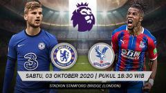 Indosport - Berikut tersaji prediksi pertandingan Liga Inggris 2020-2021 antara Chelsea vs Crystal Palace di Stamford Bridge pada Sabtu (03/10/20) pukul 18.30 WIB.