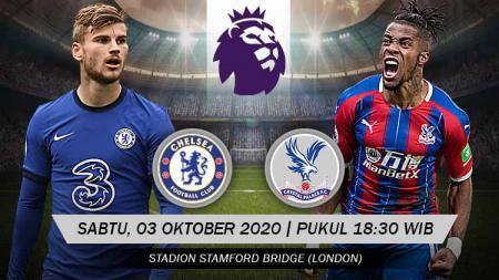 Berikut tersaji prediksi pertandingan Liga Inggris 2020-2021 antara Chelsea vs Crystal Palace di Stamford Bridge pada Sabtu (03/10/20) pukul 18.30 WIB. - INDOSPORT