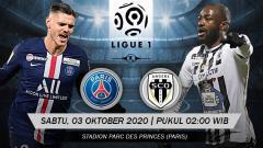 Indosport - Berikut prediksi pertandingan Ligue 1 Prancis antara Paris Saint Germain (PSG) vs Angers SCO, yang akan digelar pada hari Sabtu (03/10/20) dini hari WIB.