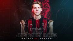 Indosport - Pemain baru AC Milan, Jens Petter Hauge.