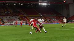 Indosport - Berikut adalah hasil pertandingan babak 16 besar Carabao Cup antara Liverpool vs Arsenal yang berakhir dengan kemenangan untuk Arsenal melalui adu penalti.