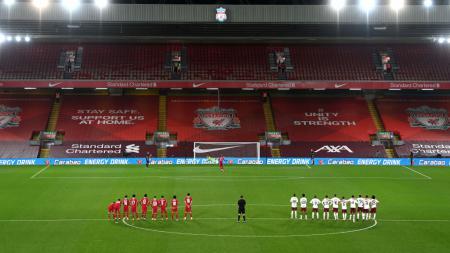 Momen Divock Origi gagal mencetak gol di adu penalti antara Liverpool vs Arsenal - INDOSPORT