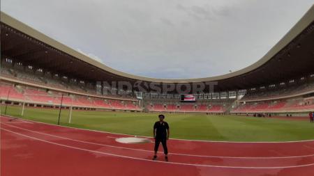 Stadion Lukas Enembe akan diresmikan dalam waktu dekat bersama sejumlah venue lainnya. - INDOSPORT