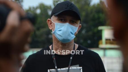 Pelatih kepala PSMS Medan, Wesley Gomes de Oliveira. - INDOSPORT