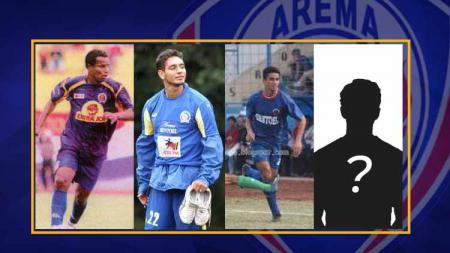 4 Pemain asing asal Brasil tersukses yang pernah dimiliki oleh Arema, siapa saja mereka? - INDOSPORT