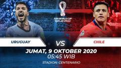 Indosport - Berikut tersaji prediksi pertandingan sepak bola Kualifikasi Piala Dunia 2022 antara Uruguay vs Chile di Stadion Centenario, Montevideo.