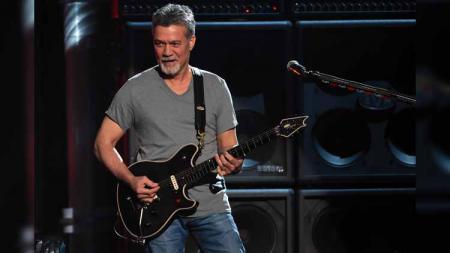 gitaris Van Halen, Eddie Van Halen. - INDOSPORT
