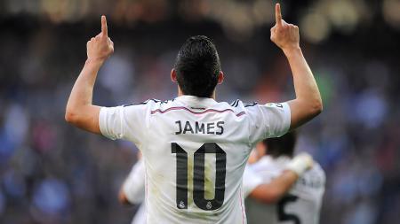Kabar kedatangan James Rodriguez ke AC Milan tidaklah mengejutkan, sebab Rossoneri sudah jatuh cinta dengan permainannya sejak beberapa tahun lalu. - INDOSPORT