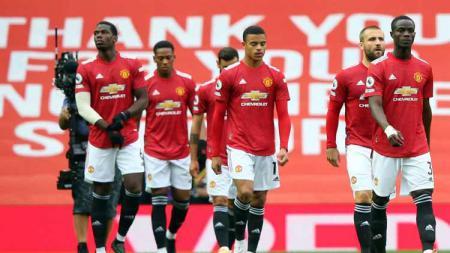 Manchester United belum pernah menang melawan empat klub London di kandangnya sendiri pada musim 2020/2021. - INDOSPORT