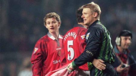 Melihat sepak terjang para pemain Skandinavia di klub Liga Inggris, Manchester United. - INDOSPORT