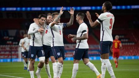 Berkat performa apik Dominic Calvert-Lewin, Timnas Inggris tampil gemilang kandaskan Wales di laga persahabatan internasional. - INDOSPORT