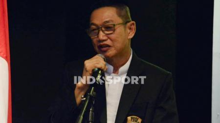 Ketua Umum Pengprov PBSI Sumut, Suripno Ngadimin. - INDOSPORT