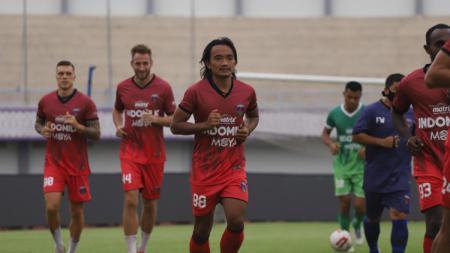 Latihan Persita Tangerang pasca libur. - INDOSPORT