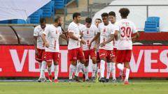 Indosport - Klub Super Lig Turki Antalyaspor, calon tim anyar wonderkid Indonesia, Muhammad Iqbal.