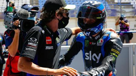 Melangkah dari Moto2 tanpa pernah menjadi juara di ajang tersebut, Marini ternyata diyakini Rossi bisa menjadi salah satu pembalap berbahaya tahun depan. - INDOSPORT