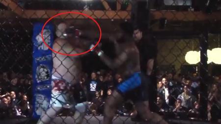 Saat masih menjadi petarung MMA amatir, Curtis Blaydes pernah membuat kejutan dengan mengalahkan lawan kurang dari 15 detik. - INDOSPORT