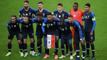Skuat Timnas Prancis - INDOSPORT