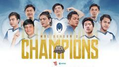 Indosport - Siren eSports juara ajang Mobile Legends Development League (MDL) Indonesia Season 2.