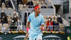 Indosport - Petenis asal Spanyol, Rafael Nadal, memutuskan mundur dari Wimbledon dan Olimpiade Tokyo.
