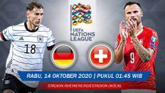 Indosport - Pertandingan Jerman vs Swiss (UEFA Nations League).
