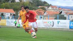 Indosport - Laga Timnas Indonesia U-19 vs Makedonia Utara U-19, Minggu (11/10/20).