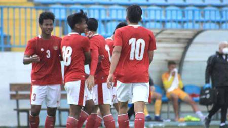 Laga Timnas Indonesia U-19 vs Makedonia Utara U-19, Minggu (11/10/20). - INDOSPORT