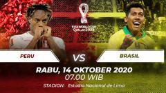 Indosport - Peru vs Brasil.