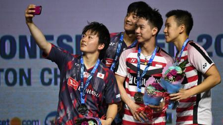 Media India menyoroti come back seluruh pebulutangkis top 10 di kompetisi Malaysia Open 2021 pada 25 - 20 Mei di Axiata Arena, Kuala Lumpur. - INDOSPORT