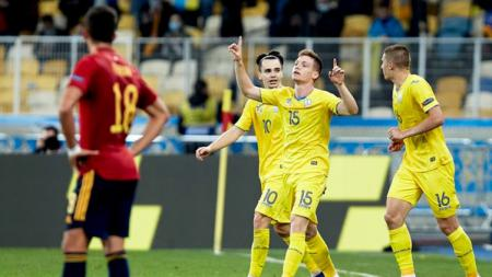Spanyol harus bertekuk lutut di tangan Ukraina - INDOSPORT
