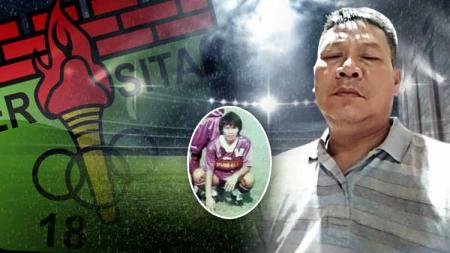 Mengenal Tatan Watanata, pencetak gol pertama Persita di Liga Indonesia. - INDOSPORT
