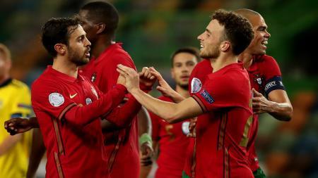 Berikut hasil pertandingan Portugal vs Swedia dalam lanjutan UEFA Nations League di Estadio Jose Alvalade, Kamis (15/10/20) WIB. - INDOSPORT