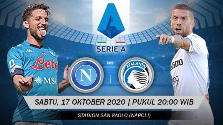Berikut tersaji prediksi pertandingan Serie A Liga Italia 2020-2021 antara Napoli vs Atalanta yang bakal dilaksanakan pada Sabtu (17/10/20) pukul 20.00 WIB. - INDOSPORT