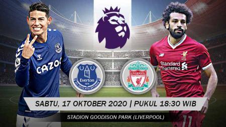Berikut rangkuman prediksi duel Everton vs Liverpool dalam lanjutan Liga Inggris yang akan berlansung di Goodison Park, Sabtu (17/10/20) malam WIB. - INDOSPORT