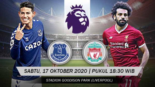 Link Live Streaming Liga Inggris: Everton vs Liverpool - INDOSPORT.COM