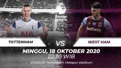 Indosport - Berikut Ini prediksi pertandingan Liga Inggris 2020-2021 yang mempertemukan antara Tottenham Hotspur vs West Ham United.