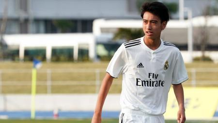 Takuhiro Nakai, pemain Jepang milik Real Madrid - INDOSPORT