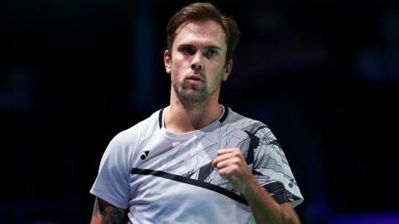 Jan O Jorgensen di ajang Denmark Open 2020. - INDOSPORT