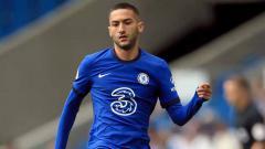 Indosport - Pemain anyar Chelsea yang baru diboyong dari Ajax Amsterdam, Hakim Ziyech, mengaku lega dirinya gagal pindah ke Arsenal maupun Barcelona dua tahun lalu.