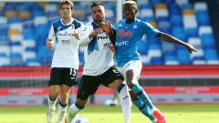 Indosport - Berikut adalah hasil pertandingan pekan ke-4 Serie A Italia yang mempertemukan Napoli vs Atalanta yang berakhir dengan kemenangan 4-1 untuk Napoli.