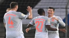 Indosport - Berikut hasil pertandingan pekan keempat Bundesliga 2020/21 antara Arminia yang menjamu Bayern Munchen, Minggu (18/10/20) dini hari WIB.
