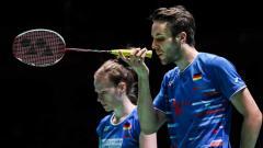 Indosport - Pebulutangkis asal Jerman, Mark Lamsfuss dan Isabel Herttrich.