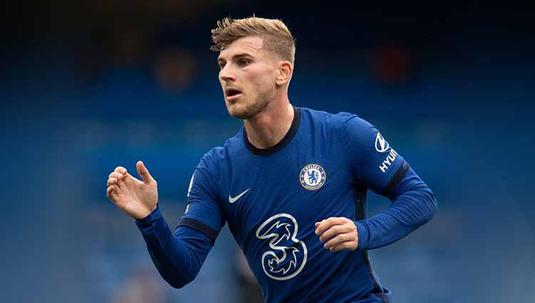 Timo Werner pemain sepakbola Chelsea. Copyright: Visionhaus/gettyimages