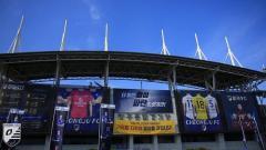 Indosport - Cheongju Stadium, markas Cheongju FC yang tertarik mendatangkan 3 pemain Indonesia.
